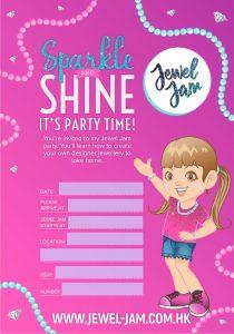 Jewel Jam Invitation